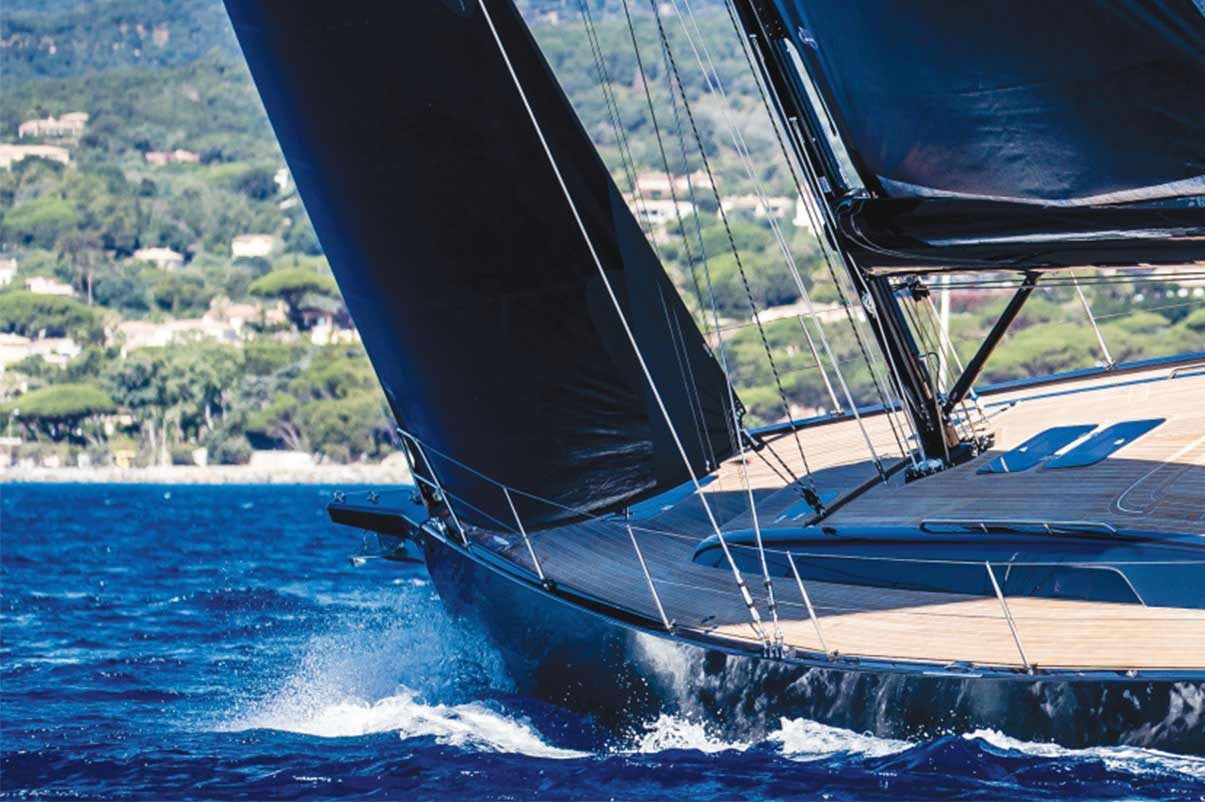 Solaris 47 Review Ocean Magazine February 2019 – PANACHE and PERFORMANCE