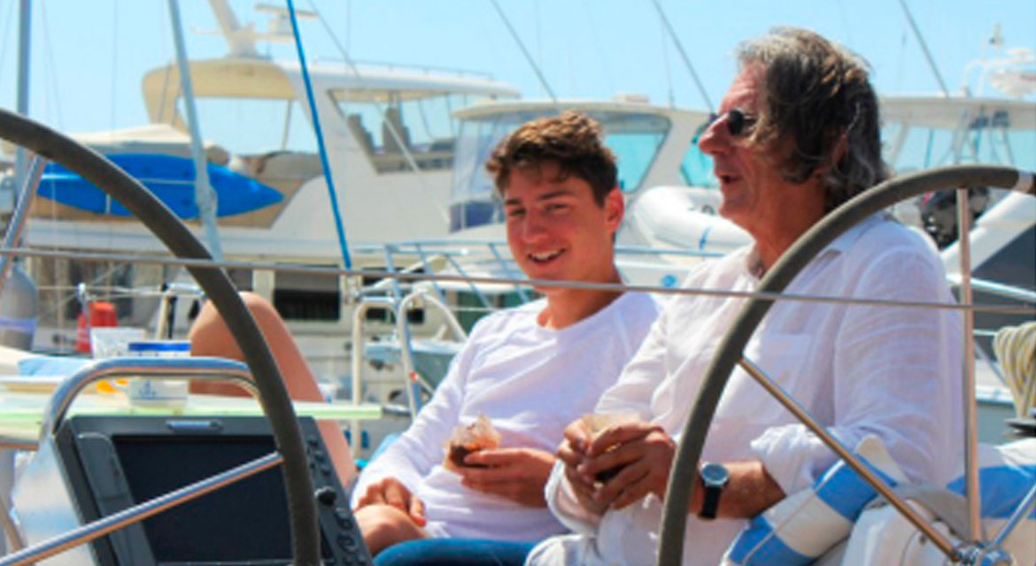 Father and Son Share Magic Times on the Water