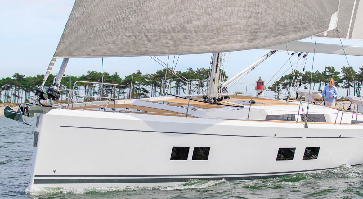 January 2018 – Ocean Magazine – The World of luxury Yachting – reviews the Hanse 548