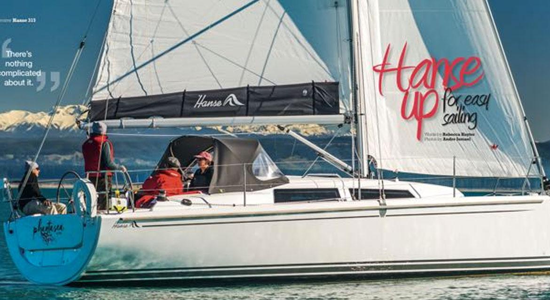 October 2016 Boating New Zealand Hanse 315
